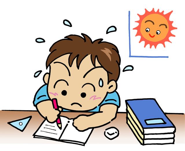夏休み・宿題(PIXTA1422282)